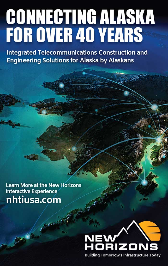 Alaska Business Magazine - New Horizons Advertisement