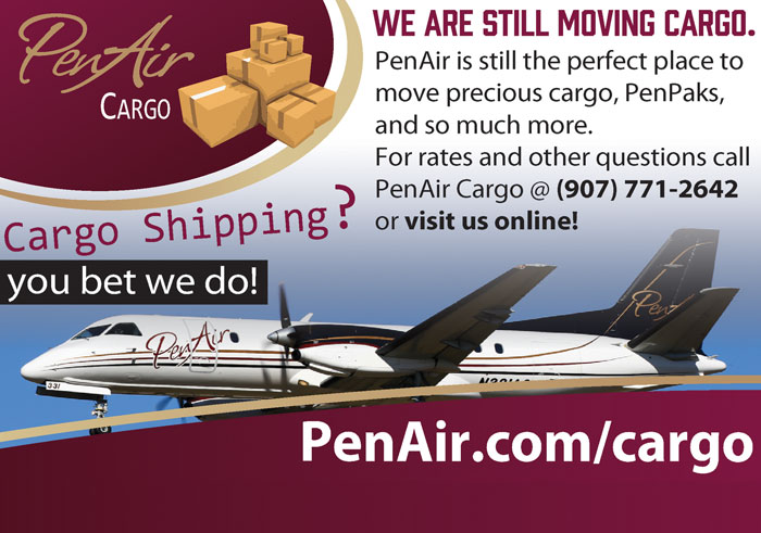 Alaska Business Magazine - Pen Air Advertisement