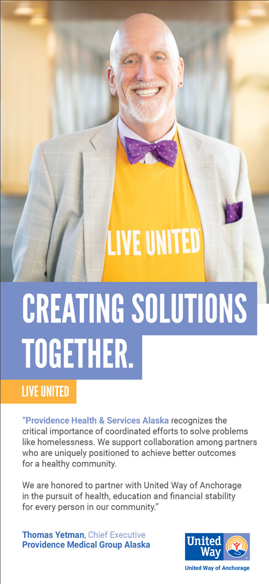 Alaska Business Magazine - United Way Advertisement