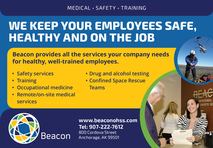 Alaska Business Magazine - Beacon Advertisement