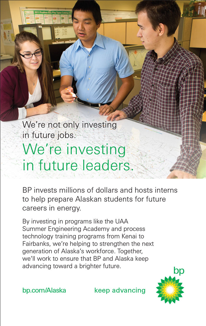 Alaska Business Magazine - BP Advertisement