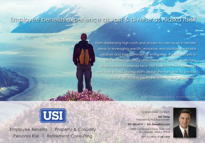 Alaska Business Magazine - USI Advertisement