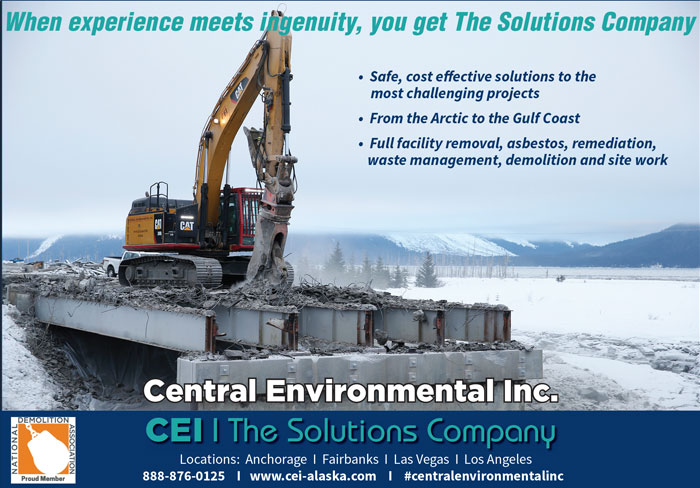 Alaska Business Magazine - CEI Advertisement