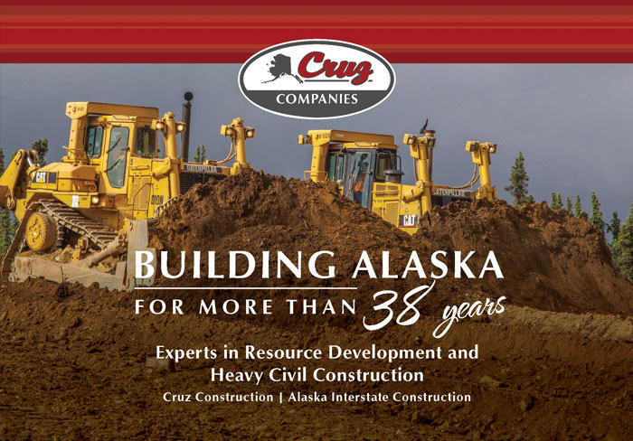 Alaska Business Magazine - Cruz Companies Advertisement