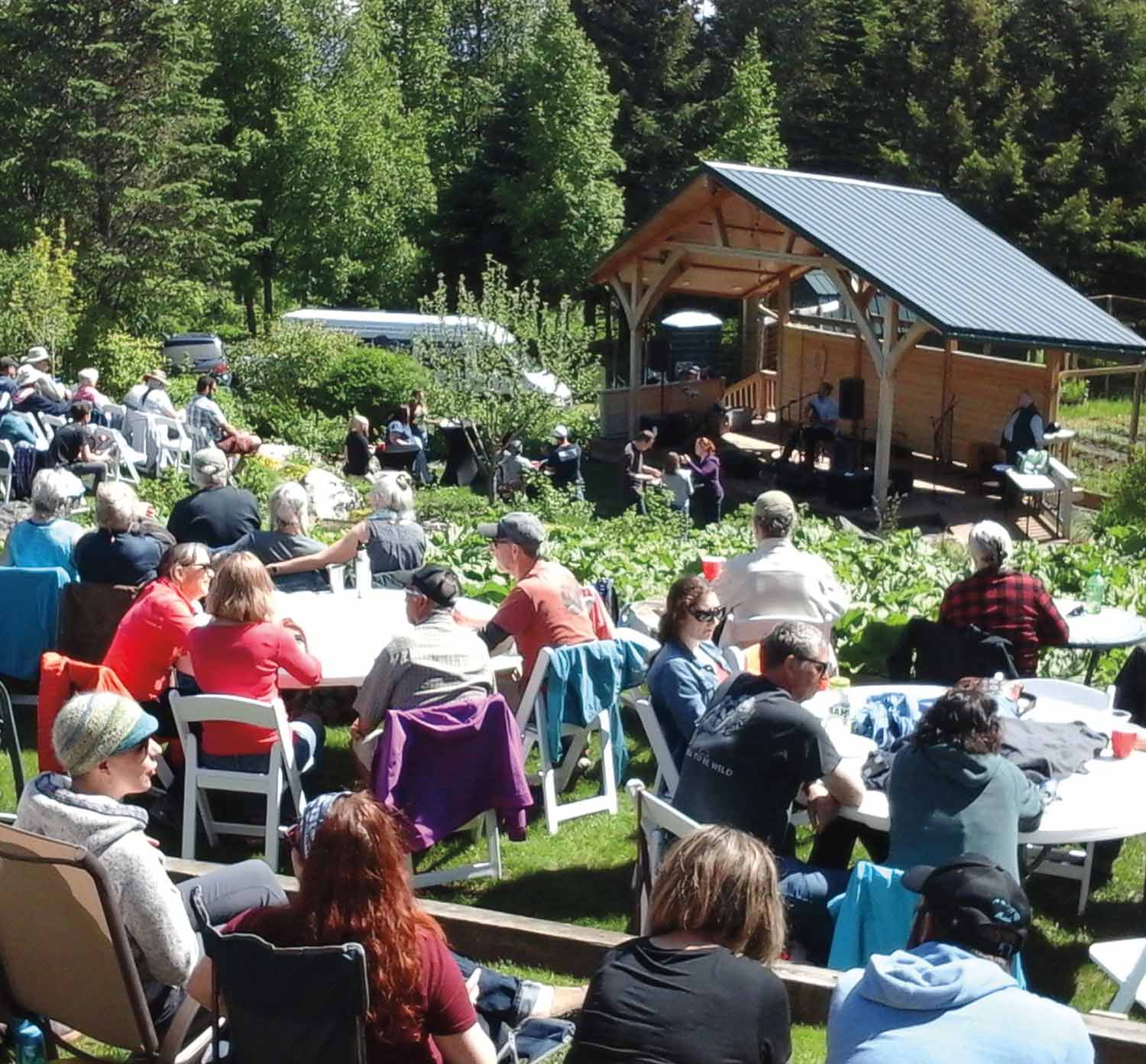 Bear Creek Winery and Lodging's annual music festival