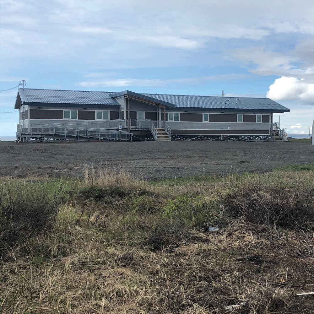 Norton Sound Health Corporation clinic in Shaktoolik