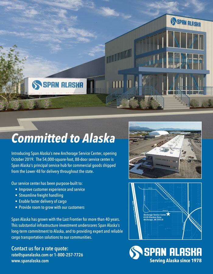 Alaska Business Magazine - Span Alaska Advertisement