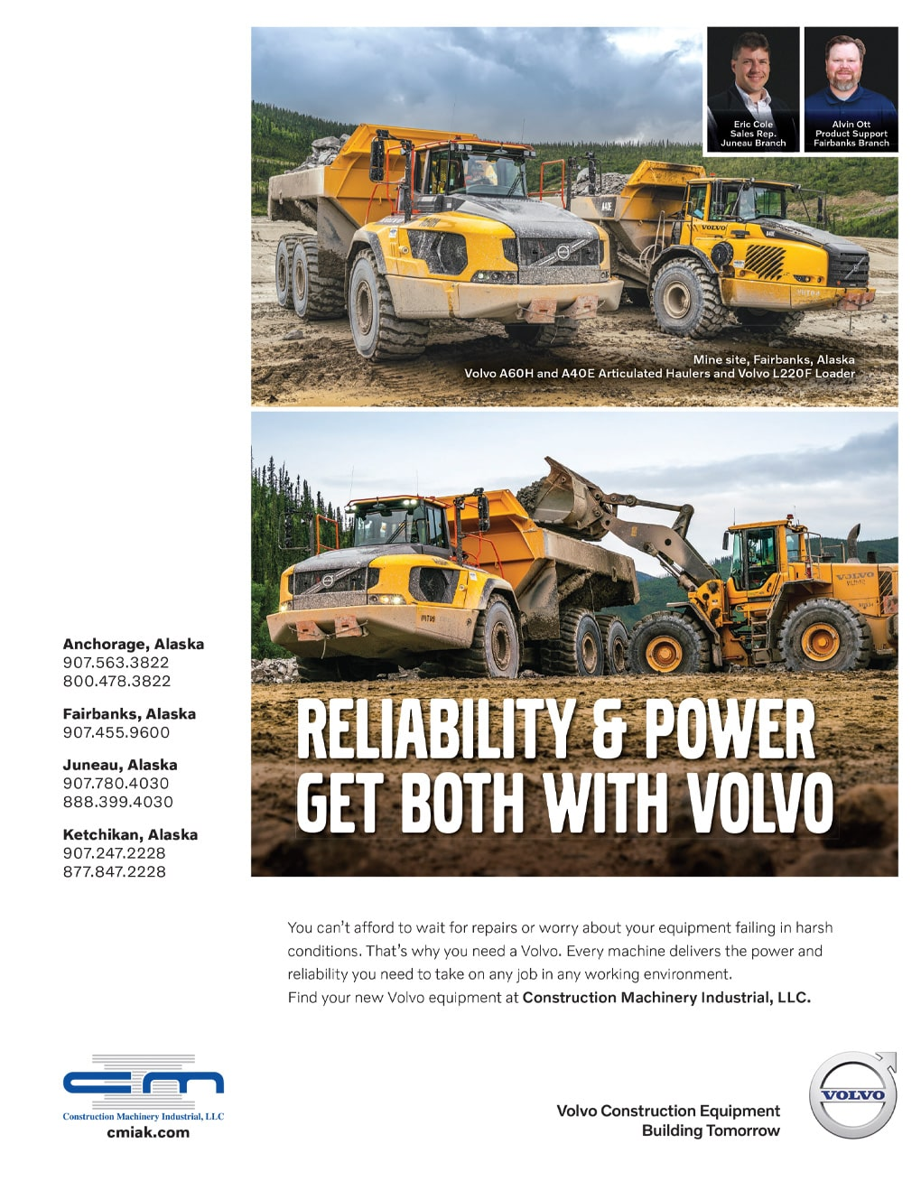 Alaska Business Magazine Construction Machinery Industrial