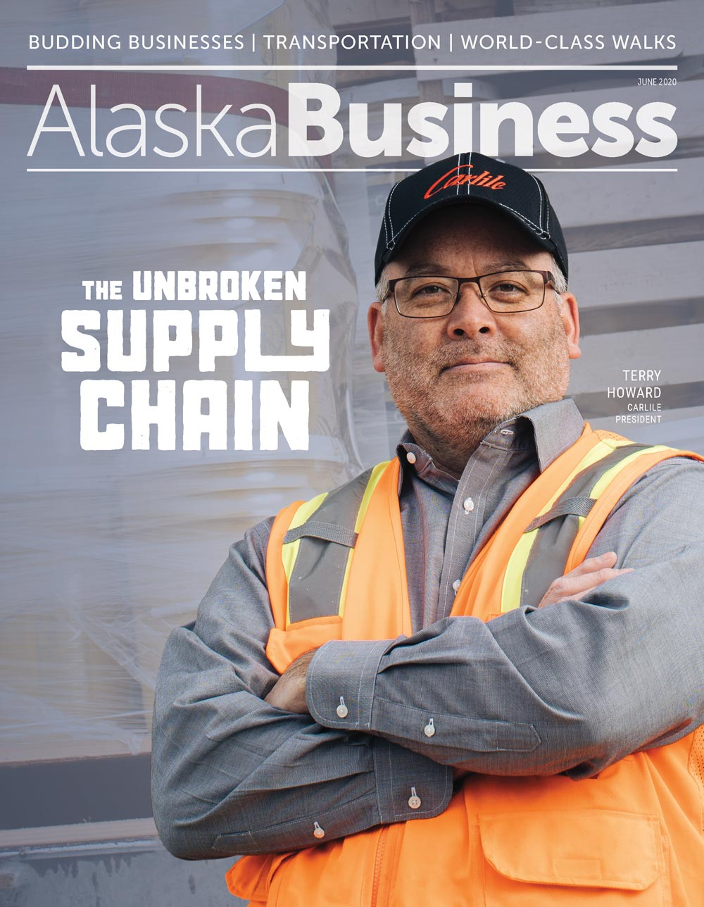 Alaska Business June 2020 cover