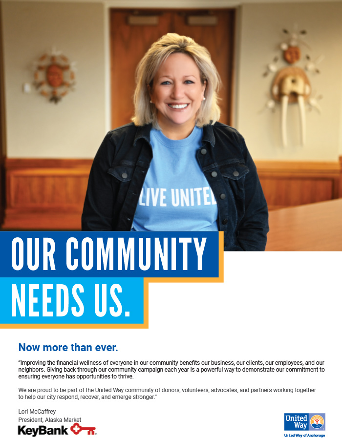 United Way of Anchorage Advertisement